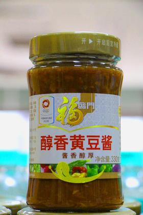 福临门醇香黄豆酱330g
