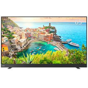 东芝(TOSHIBA)65U7700C 65英寸 4K超高清  安卓6.0系统,智能企鹅TV、语音遥控、前置式音箱、全金属边超薄机身!