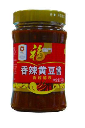 福临门香辣黄豆酱330g