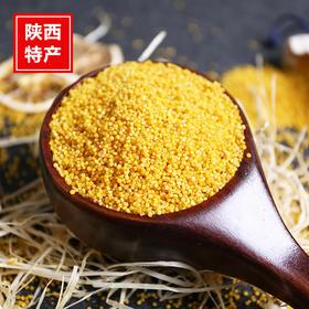 【熊猫微店】陕北米脂小米 农家生态月子米 养胃养颜 现磨现发 5斤装包邮