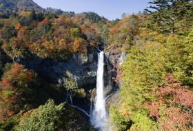 日本三名瀑之一日光华严瀑布・中禅寺湖赏枫游