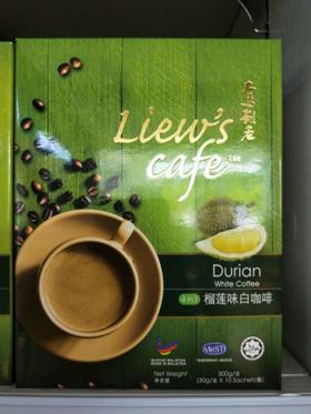 猫山王4 in 1 猫山王榴莲味白咖啡