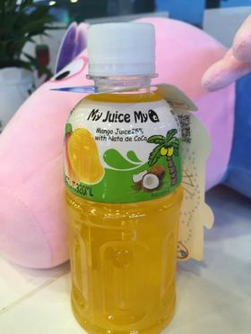 百力佳椰果小Q椰果芒果汁饮料