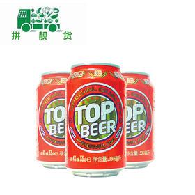 TOP拓浦啤酒330ml*24罐