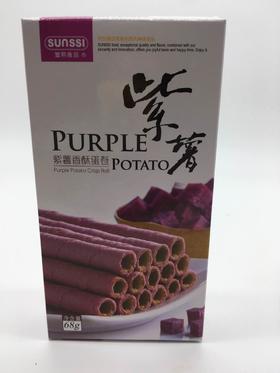 丰煕紫薯香酥卷68g