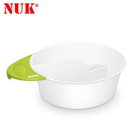 原装进口NUK趣味婴儿宝宝儿童双格碗防滑设计辅食工具新品包邮