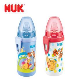 德国原装进口NUK卡通迪士尼维尼宽口径PP婴儿宝宝奶瓶学饮杯新品