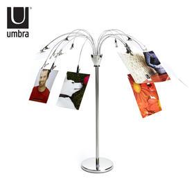 umbra创意欧式相片树摆台照片架喷泉相架 时尚瀑布台式相片架