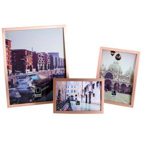 umbra加拿大金属现代相框摆台 欧式简约台式相片挂墙展示架6寸7寸