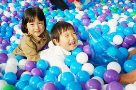 环宇城海洋球池+嘻品堂+童乐汇游乐园,三合一单次券,特惠秒杀开始啦!