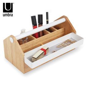 Umbra托托收纳盒创意欧式公主珠宝首饰盒原木实木化妆品储物盒