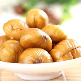 甘栗仁糖炒板栗即食组 来自河北燕山山脉的野生板栗,精心挑选,传统糖炒