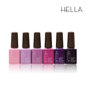 赫拉紫色6色小套甲油胶