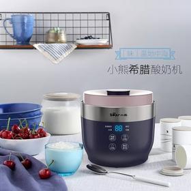Bear/小熊 家用全自动4陶瓷酸奶杯米酒奶酪希腊酸奶机 SNJ-C10T1