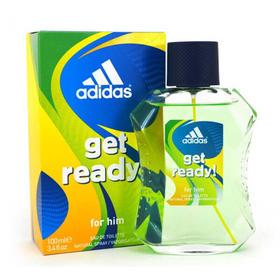 阿迪达斯男士预备香水 100ml Get ready