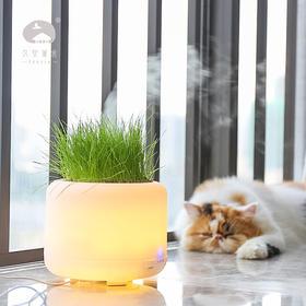 【一草一世界】久安薰舍 可种植香薰机 加湿器 家用空气净化器 超声波香薰灯