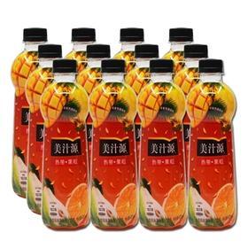 美汁源热带果粒