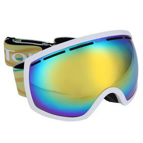 探路者2017秋冬新款通款男女内镜防雾双层结构滑雪镜ZEHF90121