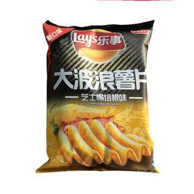 乐事大波浪芝士焗培根味薯片70g
