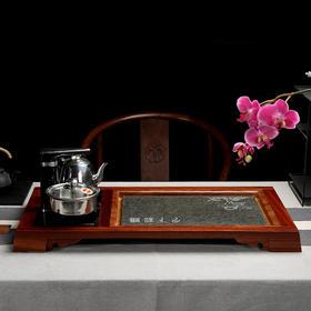 茶艺茶盘黑檀两款茶盘