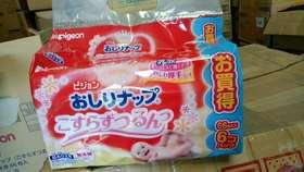 日本进口贝亲湿巾补充装80*6
