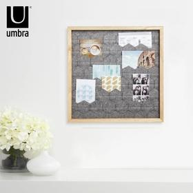 umbra塔克毛毡相框照片墙客厅书房装饰相片展示框复古照片相框墙