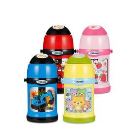 象印儿童保温杯 带吸管两用不锈钢便携宝宝学生可爱卡通水壶