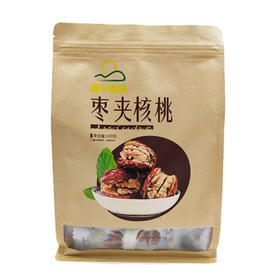 新疆伊犁 熟的枣夹核桃500g 甜润醇香 营养补脑