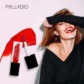 秀场专用口红,美国 Palladio 贝拉蒂丝绒迷雾唇釉,丝绒雾面感!显色、持久、润色,超高性价比!INS美妆博主都在用!