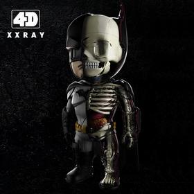 【限量款】4D XXRAY Batman蝙蝠侠  Jason Freeny 半透视骨骼内脏 可拆卸 公仔手办