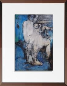 杨重光版画《晴朗的一天 》90x60cm