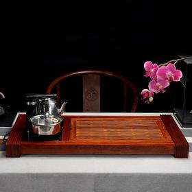品味茶盘黑檀两种茶盘