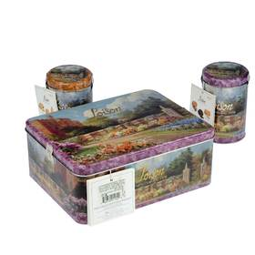意大利原产 洛森世家饼干大礼盒650g 酥性饼干 多种口味独立小包装旅行必选