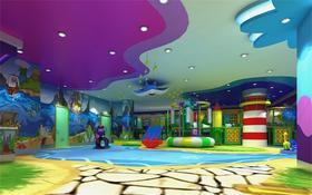 限时预售39.9元   彩虹堂游乐场,室内淘气堡,超大彩虹探险、蹦床、赛车淘气堡、考古沙池各种好玩的等你来玩啦!