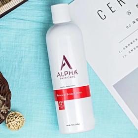 「改善鸡皮,嫩滑肌肤」包邮 美国Alpha Hydrox12%果酸丝滑身体乳,果酸焕肤术!平滑美肤亮白保湿