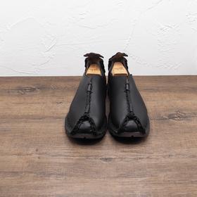 复古中式唐装男鞋
