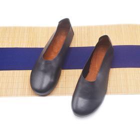 手工女鞋 中国风中式禅意套脚气质软底单鞋