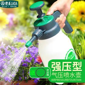 老A 家用浇花喷壶压力喷水壶园艺洒水壶气压式手动喷雾器浇水壶