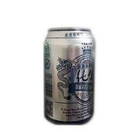 限武汉地区销售 丨 含锶元素  中奖率超高的9°金龙泉纯生啤酒  330ml/听*6听/组   4组/件  共24听