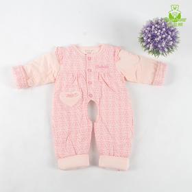 婴儿连体衣新生儿加厚保暖爬服纯棉外套春秋冬款男女宝宝夹棉哈衣