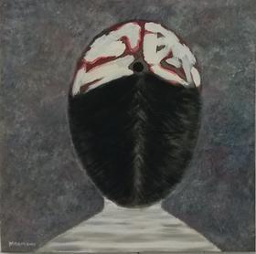 梅森作品《记忆杀手》/  50x50cm / 2012