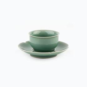 茶语丨花口贡盏 纯手工打造 古韵典雅 大师杰作