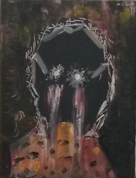 梅森作品《肖像》/ 40x30.5cm /   2013