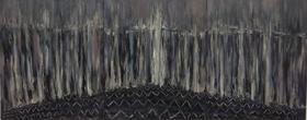 梅森作品《黑火 3幅》/ 120x100cm  / 2011
