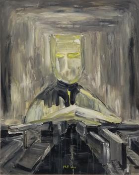 梅森作品《毕业创作之一  》/ 100x80cm/ 2011