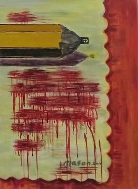 梅森作品《组画之一》/ 73x54 cm/ 2011