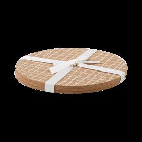 S/3软木印花锅垫
