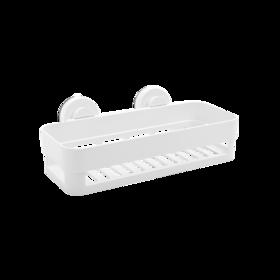 方形镂空吸盘置物架