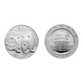 2010熊猫银质纪念币