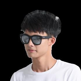 轻质方形男式墨镜
